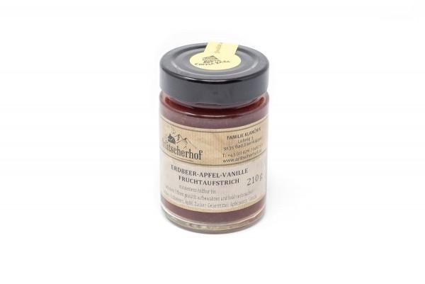 Fruchtaufstrich Erdbeer Apfel Vanille