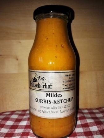 Kürbisketchup mild